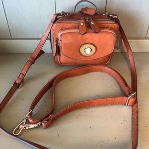 New with tags faux leather purse
